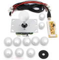 DIY Arcade Controller Kit (White)