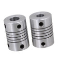 Flexible Coupler 5x5x25mm