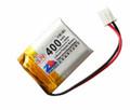 Lithium Ion Polymer Battery - 3.7V 400mAh