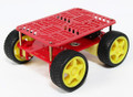 Basic 4x4 Chassis with 4 gear motors and 4 wheels