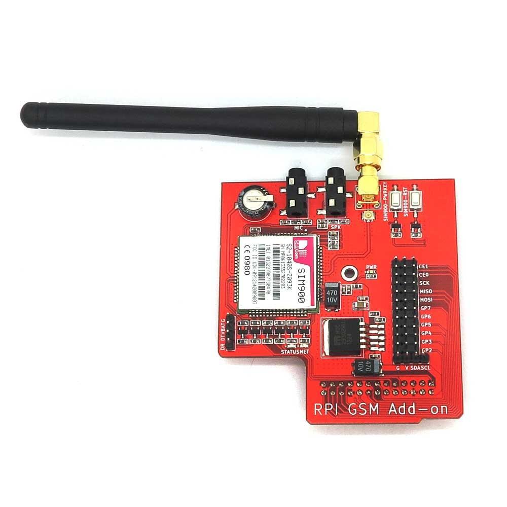 Raspberry Pi SIM900 GSM/GPRS Add-On