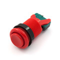 Concave Button - Red