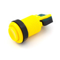 Concave Button - Yellow