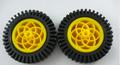 80mm Wheel 1 pair ( works with DG01D gearmotors)