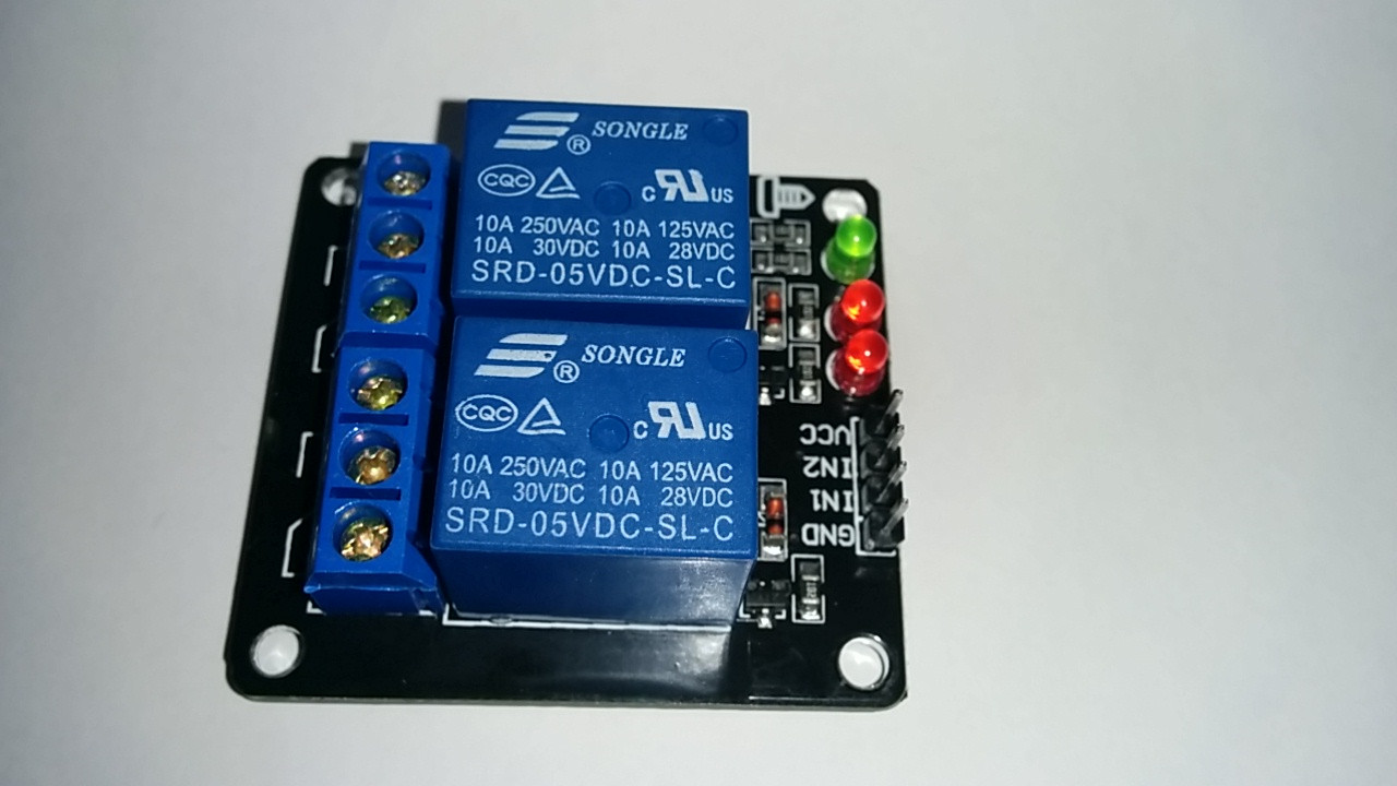 2 Channel 5v Relay Module Crciberntica Electronic Brick Larger More Photos