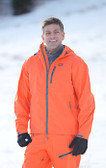 Flylow Ski Jacket Orange with  GOODE Logos