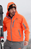 Double Diamond Softshell Orange with Grey GOODE Logos