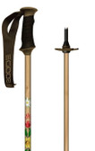 Wood Grain Composite Ski Pole