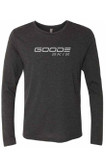 Men's Black Long Sleeve GOODE Ski Shirt