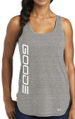 Women's Tank Top Gray / White GOODE Logo
