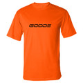 Poly Sport T-Shirt Orange & Black Goode