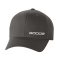 "GOODE FLEX FIT HAT GREY ""GOODE"""