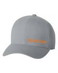 GOODE Unisex Flexfit Mid-Profile Hat Gray/Orange