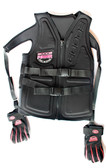 PowerVest front view showing Power Straps and PowerGrip Gloves
