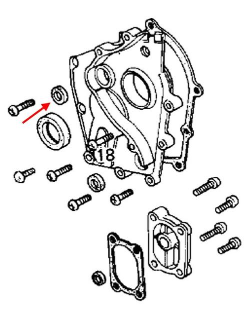 Kawasaki OEM Clutch Push Rod Seal KZ1000J Schnitz Racing – Kz1000p Wiring Diagram For 1982