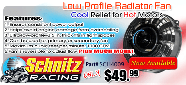 Schnitz Low Profile Radiator Fan
