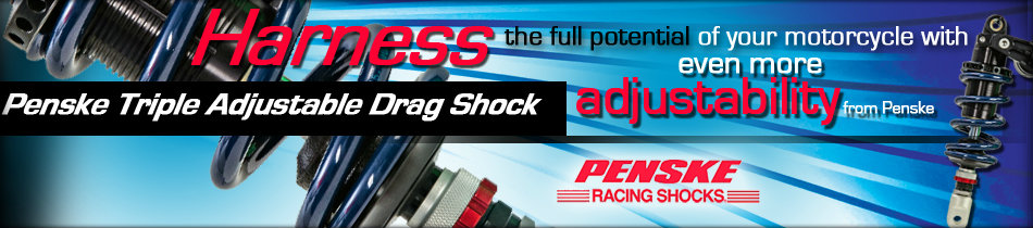 Penske Triple Adjustable Drag Shock