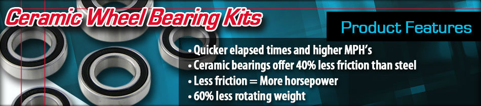 Ceramic Wheel Bearing Kits