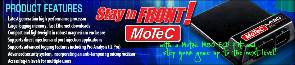 Motec M130 ECU Kits
