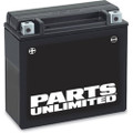 Parts Unlimited Battery YTX14AHL-BS AGM Maintenance Free