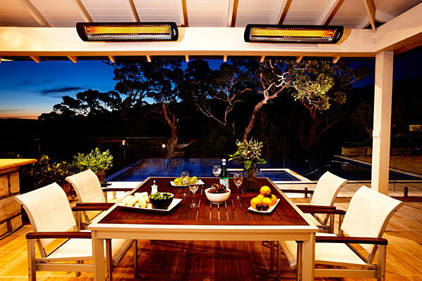 outdoor electric patio heaters - tungsten