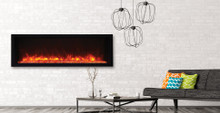 Amantii BI-50-XTRASLIM – Full Frame Electric Fireplace