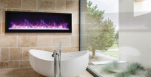 Amantii BI-60-XTRASLIM – Full Frame Electric Fireplace