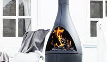 Morso Kamino Outdoor Fireplace