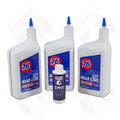 """OK 4-QRT-A - Redline Synthetic """"Shock Proof"""" Oil with positraction Additive. 4 Quarts."""
