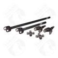 YA W24106 - Yukon front 4340 Chrome-Moly replacement axle kit for '72-'81 Dana 30 Jeep CJ with 27 splines
