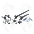 YA W24112 - Yukon 4340 Chrome-Moly replacement Axle kit for Jeep TJ, YJ & XJ Dana 30, w/ Super Joints