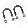 "YY UB-F9-1310 - 1310 and 1330 U/Bolt kit (2 U-Bolts and 4 Nuts) for 9"" Ford."