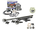 USA Standard 30 spline 4340 Chrome-Moly axle & Zip Locker kit for Jeep TJ, XJ, YJ & ZJ.