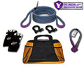 "Yukon recovery gear kit with 3/4"" kinetic rope"
