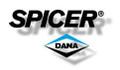 DS 18555 - Replacement standard open spider gear set for Dana 44, 19 spline.