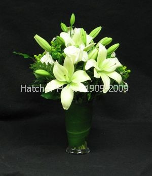 White dream vase. A soft elegant expression of your thoughts and feelings.