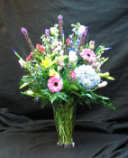 A lovely selection of flowers to express your sympathy, for the home or the funeral home.The flowers can be designed to compliment the changing seasons