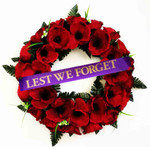 """Poppy Wreath  """"Lest We Forget """""""