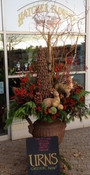 Winter Urn custom design