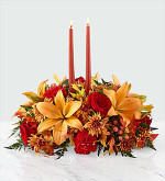 Bright Autumn Table Centrepiece