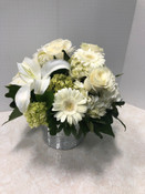 Creamy White Delight Bouquet