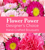 Pink Colours Florist Designed Bouquet
