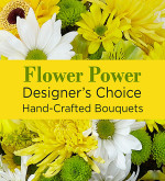 Yellow Colours Florist Designed Bouquet