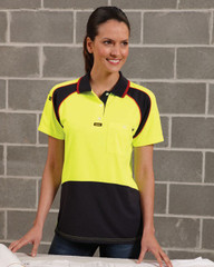 V1003 - Ladies Energy Micrifibre Polo S/S
