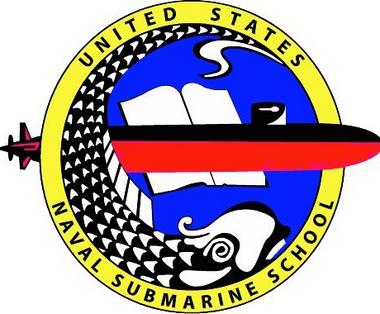 Us Naval Submarine School Decal