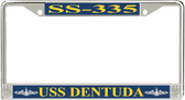 USS Dentuda SS-335 License Plate Frame