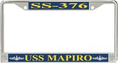 USS Mapiro SS-376 License Plate Frame