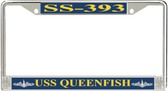 USS Queenfish SS-393 License Plate Frame