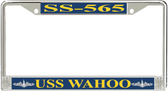 USS Wahoo SS-565 License Plate Frame