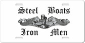 Steel Boats, Iron Men Auto Tag